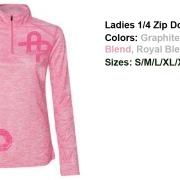 ladies-1_4-zip-pink-blend-double-heart