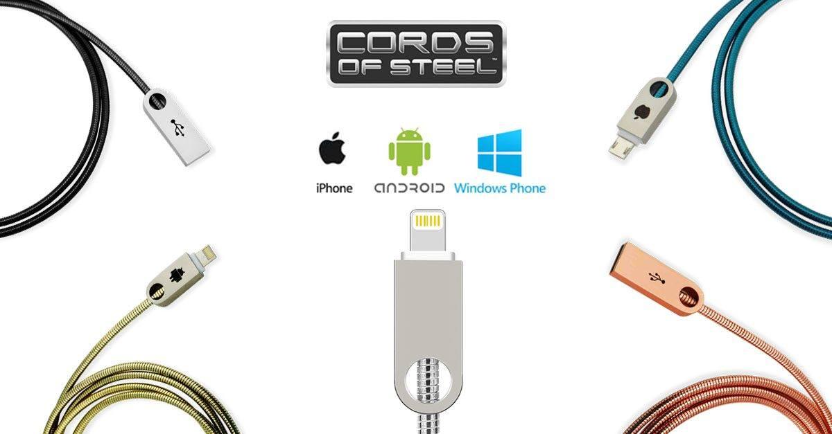Benefits of Steel Charging Cords