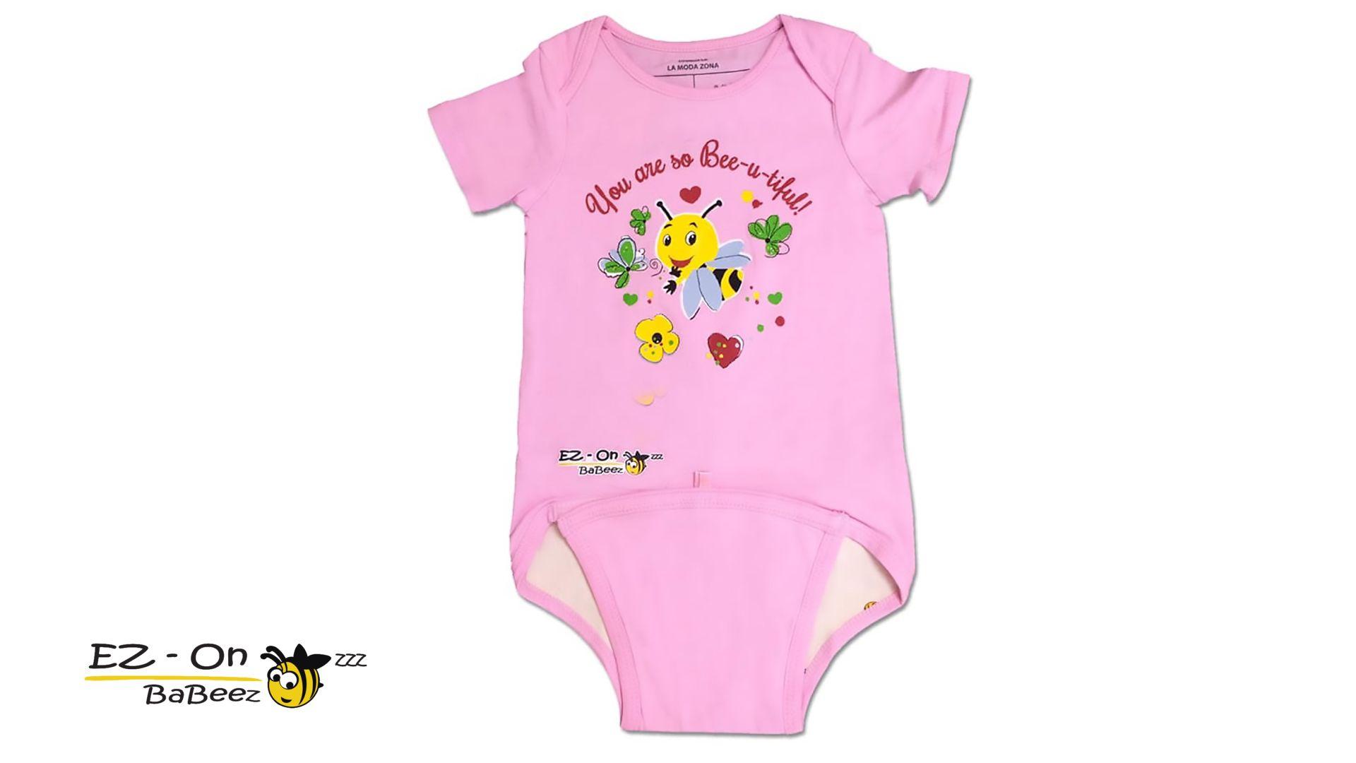 EZ-On BaBeez Short Sleeve Baby Bodysuits thumbnail